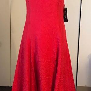 Ralph Lauren silk red dress